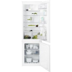 Combina frigorifica incorporabila ELECTROLUX ENT6TF18S, TwinTech No Frost, 254 l, H 177.2 cm, Clasa F, alb