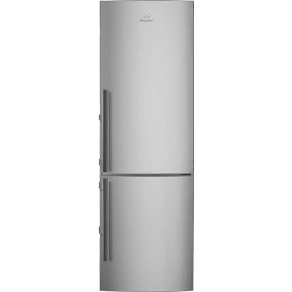 Combina frigorifica ELECTROLUX EN3453MOX, Frost free, 311 l, H 184.5 cm, Clasa A++, gri