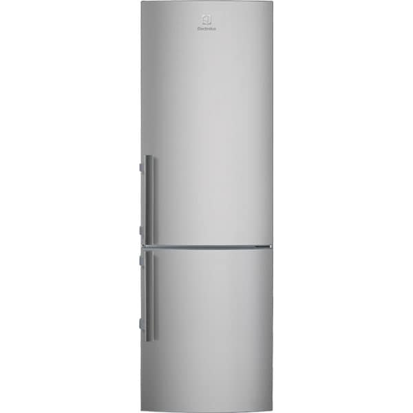 Combina frigorifica ELECTROLUX EN3601MOX, Static low frost, 329 l, H 184.5 cm, Clasa A++, argintiu