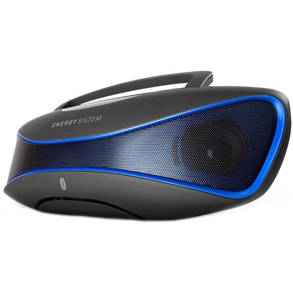 Boxa portabila ENERGY SISTEM Music Box BZ6, Bluetooth, RadioFM, USB, MicroSD, Black-Blue