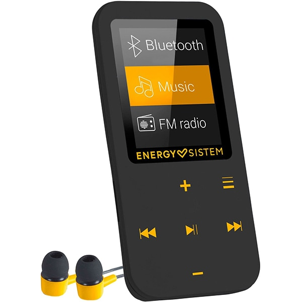MP4 Player ENERGY SISTEM ENS447220, 16GB, Touch, Bluetooth, FM, amber