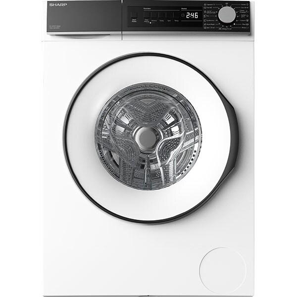 Masina de spalat rufe frontala SHARP ES-NFB712BWC-EE, 7 kg, 1200 rpm, Clasa C, alb