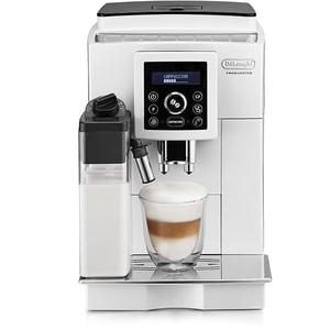 Espressor automat DE LONGHI LatteCrema System ECAM 23.460.W, 1.8l, 1450W, 15 bar, alb-negru