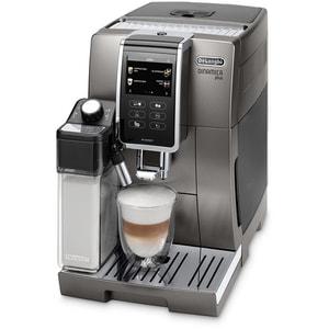 Espressor automat DE LONGHI Dinamica Plus ECAM.370.95.T, 1.8l, 1450W, 19 bar, gri inchis-argintiu