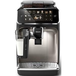 Espressor automat Philips LatteGo Seria 5400 EP5447/90, 1.8l, 1500W, 15 bar, negru-argintiu