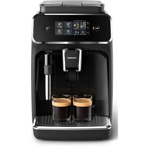 Espressor automat PHILIPS Seria 2200 EP2221/40, 1.8l, 15 bari, negru