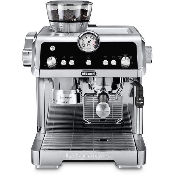 Espressor manual DE LONGHI La Specialista EC9335.M, 2l, 1450W, 19 bar, Smart Tamping Station, argintiu-negru