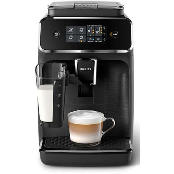 Espressor automat PHILIPS Seria 2200 LatteGo EP2230/10, 1.8l, 15 bari, negru
