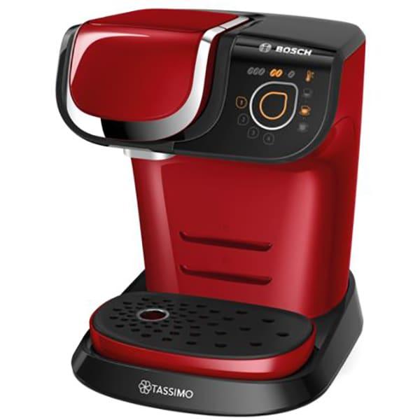 Espressor BOSCH Tassimo My Way TAS6003, 1.3l, 1500W, rosu - negru