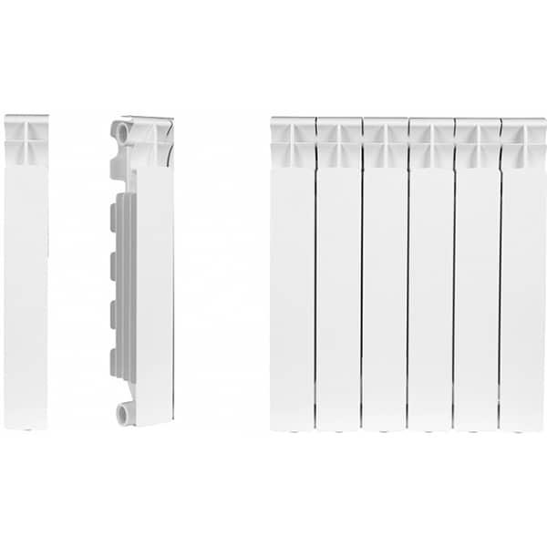 Element calorifer aluminiu NOVA FLORIDA Big, 857 x 80 mm, alb