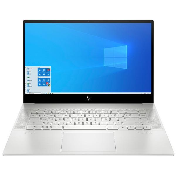 "Laptop HP Envy 15-ep0021nq, Intel Core i7-10750H pana la 5.0GHz, 15.6"" 4K UHD Touch, 16GB, SSD 512GB, NVIDIA GeForce RTX 2060 Max-Q 6GB, Windows 10 Home, argintiu"