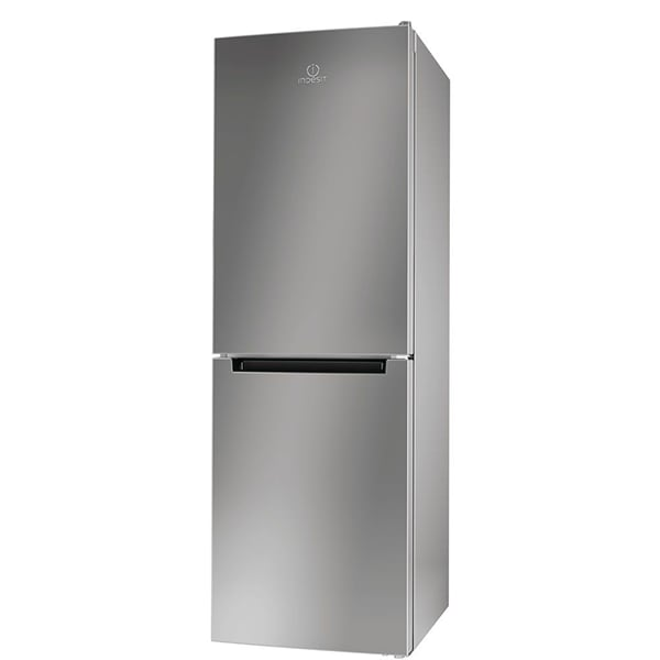 Combina frigorifica INDESIT LR7 S1 S, Low Frost, 308 l, H 176 cm, Clasa A+, argintiu