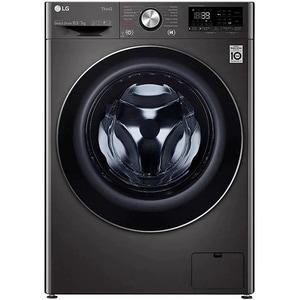 Masina de spalat rufe frontala cu uscator LG F4DV710S2SE, Steam+, Wi-Fi, 10.5/7kg, 1400rpm, Clasa A, negru