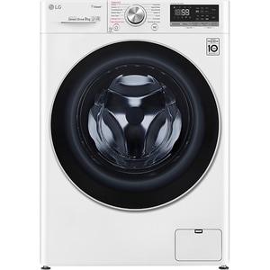 Masina de spalat rufe frontala LG F4WN609S1, 6 Motion, Wi-Fi, 9kg, 1400rpm, Clasa D, alb