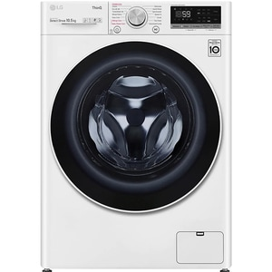 Masina de spalat rufe frontala LG F4WV510S0E, Steam, Wi-Fi, 10.5kg, 1400rpm, Clasa B, alb