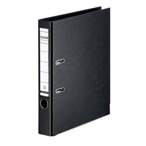 Biblioraft plastifiat FALKEN Chromcolor, A4, 50 mm, negru