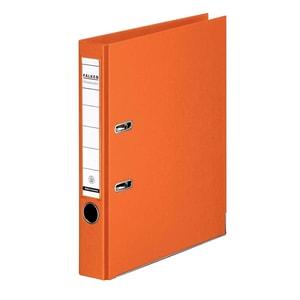 Biblioraft plastifiat FALKEN Chromcolor, A4, 50 mm, portocaliu