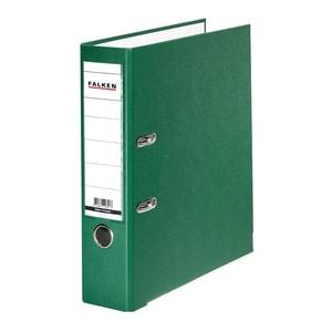 Biblioraft plastifiat/cartonat FALKEN, A4, 50 mm, verde