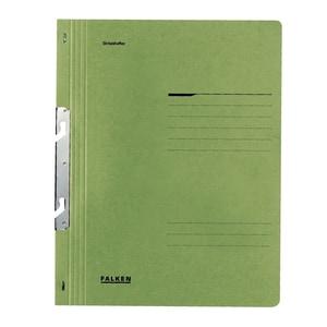 Dosar incopciat FALKEN, 1/1, A4, carton, verde
