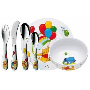 Set complet de hranire  WMF Disney Winnie the Pooh, 1 an, 6 piese, multicolor