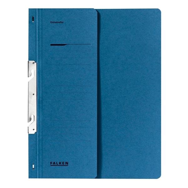 Dosar incopciat FALKEN, 1/2, A4, carton, albastru