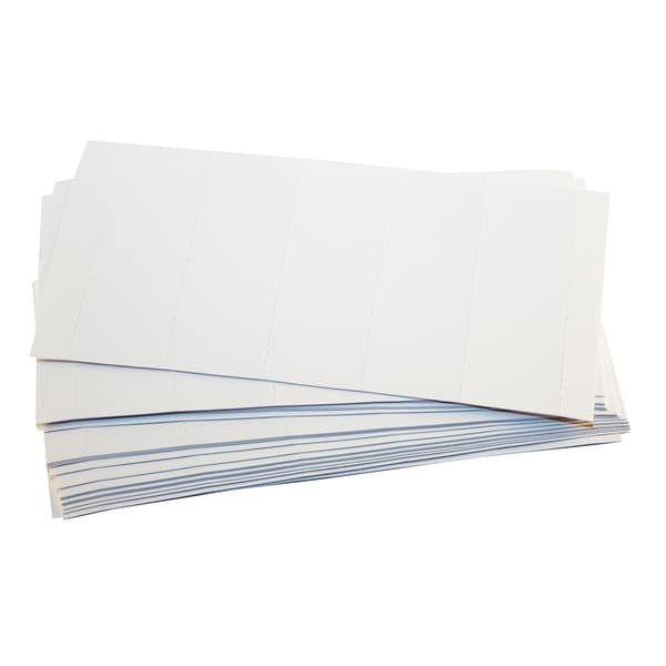 Etichete din carton FALKEN, 60 x 20 mm, 100 bucati/set, alb