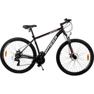 """Bicicleta de munte OMEGA Fenix, 29"""", cadru aluminiu, negru"""
