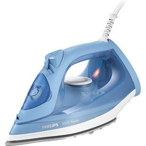 Fier de calcat PHILIPS Seria 3000 DST3020/20, 2200W, 160g/min, 300ml, talpa ceramica, albastru-alb
