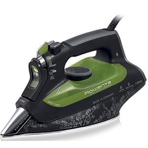 Fier de calcat ROWENTA DW6010, 2400W, 180g/min, 300ml, talpa inox, negru-verde