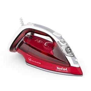 Fier de calcat TEFAL UltraGliss FV4996E0, 2600W, 230g/min, 270ml, talpa Durilium AirGlide, rosu-alb