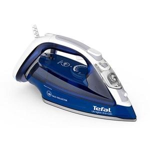 Fier de calcat TEFAL UltraGliss FV4998E0, 2600W, 230g/min, 270ml, talpa Durilium AirGlide, albastru-alb
