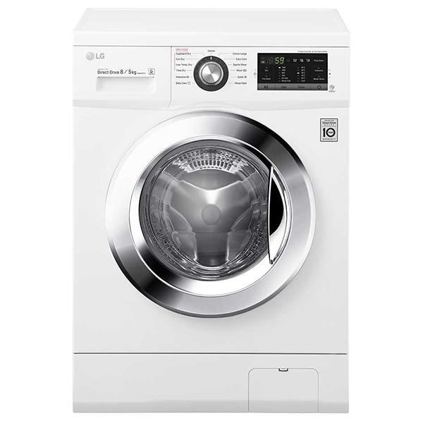 Masina de spalat rufe cu uscator LG FH4G6TDM2N, 8/5kg, 1400rpm, A, alb