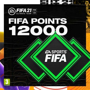 FIFA 21 12000 FUT Points PlayStation (Licenta electronica PlayStation)