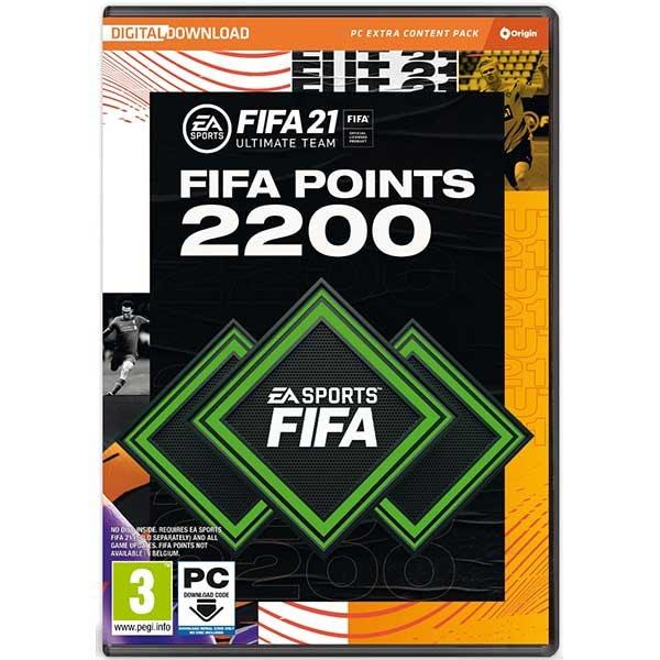 FIFA 21 2200 FUT Points PC (Code in the Box)