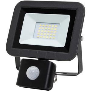 Proiector LED cu senzor de miscare HOME FLP 20 SMD, 20W, 1500 lumeni, IP44, negru