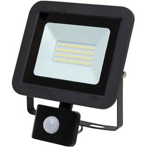 Proiector LED cu senzor de miscare HOME FLP 20 SMD, 30W, 2250 lumeni, IP44, negru
