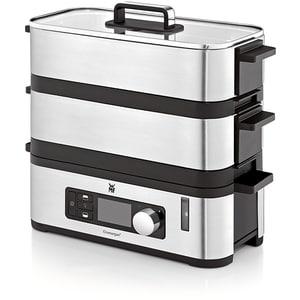 Aparat de gatit la aburi WMF Kitchenminis 415090011, 2.15l, 900W, argintiu-negru