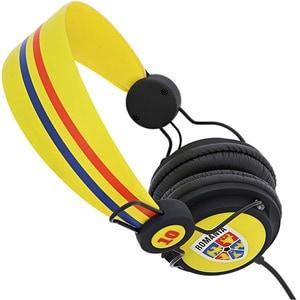 Casti TELLUR FRF FRF000037, Cu fir, Over-Ear, Microfon, galben