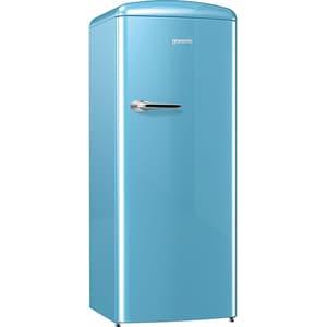Frigider cu o usa GORENJE Retro ORB152BL, 254 l, H 154 cm, Clasa A++, bleu