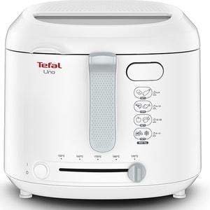 Friteuza TEFAL Uno FF203130, 1kg, 1.8l, 1600W, alb-gri