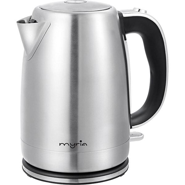 Fierbator apa MYRIA MY4431, 1.7l, 2200W, argintiu-negru