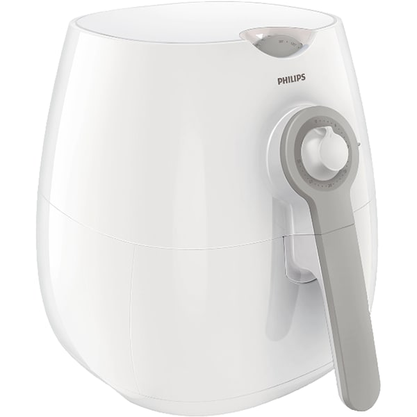 Friteuza cu aer cald PHILIPS Daily Collection Airfryer HD9216/80, 0.8kg, 1425W, alb-gri