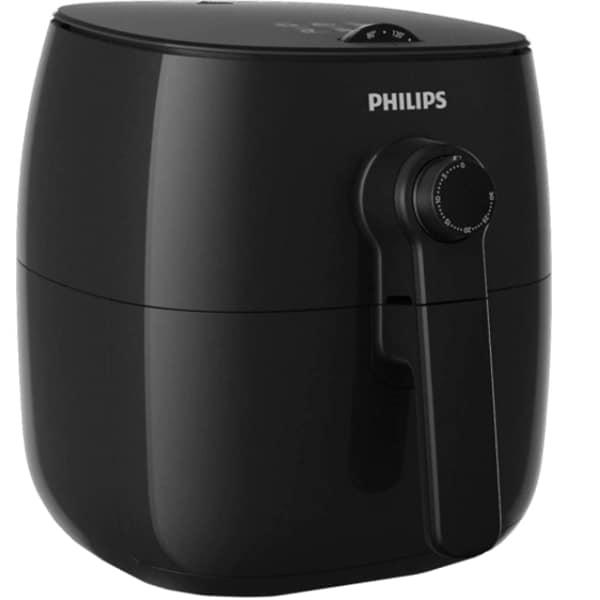 Friteuza cu aer cald PHILIPS Viva Collection Airfryer HD9621/90, 0.8kg, 1425W, negru