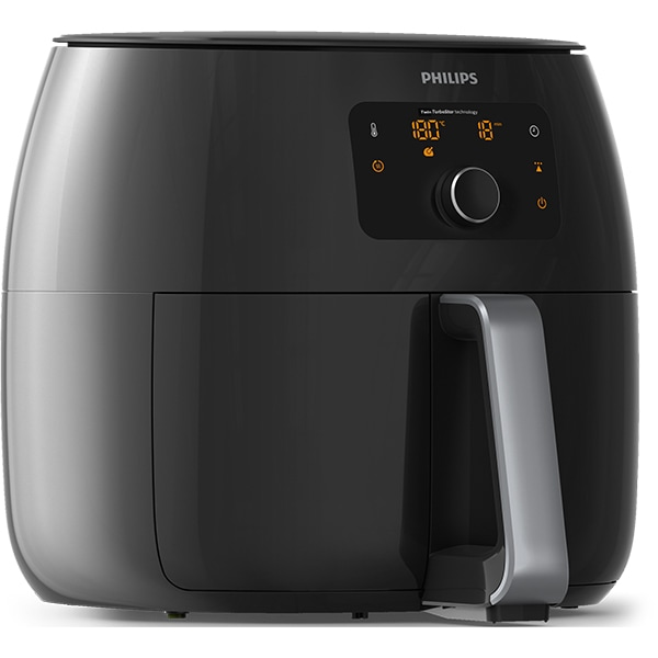 Friteuza PHILIPS HD9650/90 Avance Collection Airfryer XXL, 1.4l, 2225W, negru