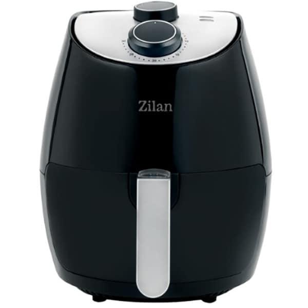 Friteuza cu aer cald ZILAN ZLN3598, 2.6kg, 1350W, negru-argintiu