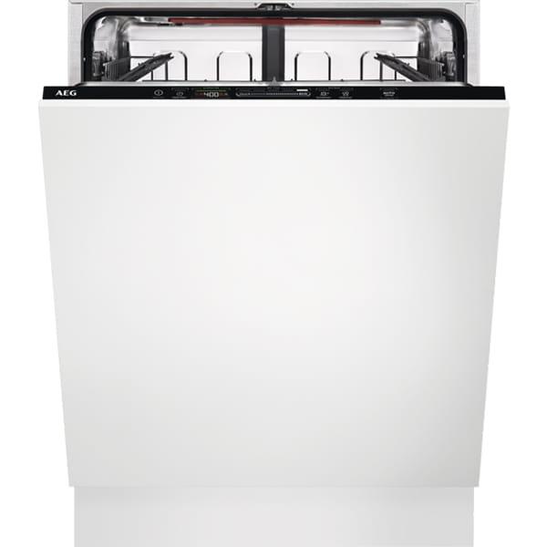 Masina de spalat vase incorporabila AEG FSB53637P, 13 seturi, 7 programe, 60 cm, Clasa D, negru