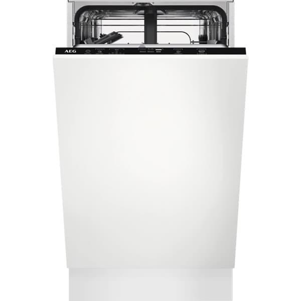 Masina de spalat vase incorporabila AEG FSE31407Z, 9 seturi, 5 programe, 45 cm, Clasa F, negru