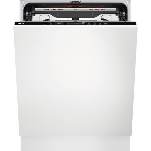 Masina de spalat vase incorporabila AEG FSE73727P, 15 seturi, 7 programe, 60 cm, Clasa D, negru