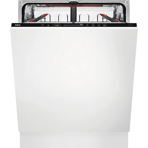 Masina de spalat vase incorporabila AEG FSE74608P, 13 seturi, 7 programe, 60 cm, Clasa C, negru