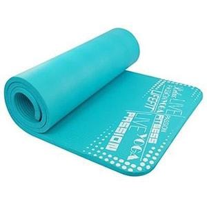 Covoras yoga DHS Exclusive, 100 x 60 x 1 cm, turcoaz